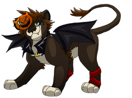 Halloween Sora Lion by BosleyBoz