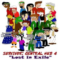 Survivor: Central Hub 4 Cast by SSBFreak