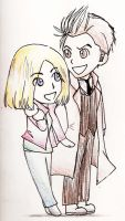 Ten and Rose by DragonfireXAgent