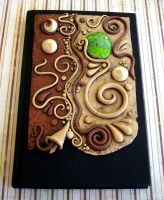 Mocha Almond Swirl Journal by MandarinMoon