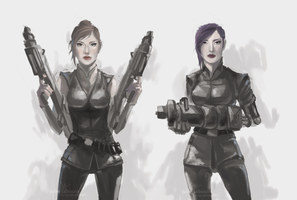 GR: girls with guns by Sui-Sui