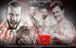 WWE '13 by PainSindicate