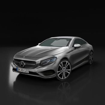 Mercedes Benz Coupe S class 2017 by Sabracon