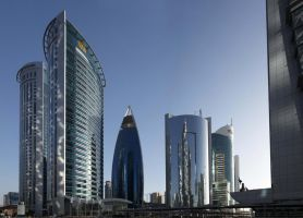 Qatar - Doha - West Bay - Skyscrapers by GiardQatar