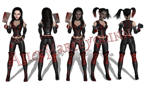 AliceHarleyquinn, release by tombraider4ever