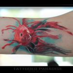 watercolor fish ) by dopeindulgence