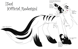Zea Redesign (New Reference) by VioletDiamonds22