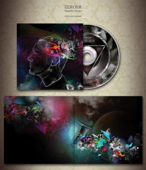 ZEROER cd artwork by munkymuck