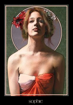 Homage to Mucha by carlzon