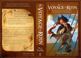 Voyage to Ruin Paperback Cover by CapnFlynn