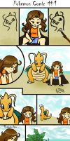 Pokemon Comic 1 by PrincessRinielle