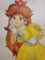 Princess Daisy - Old design by Teidan