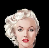 Marilyn Monroe by S-I-S-O
