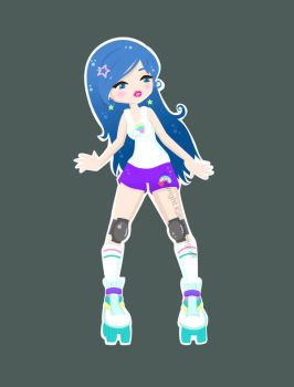 Roller Girl by fuish