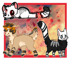 Cheap Halloween Adopts! closed by thedoomedkitteh