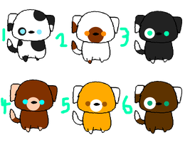 Pug Adopts/Breedables by Angelthekitty123
