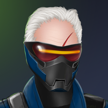 Soldier 76 by ChibiNeo
