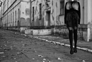 The Alienation Of A Suburban Girl by SaluteYourSolution