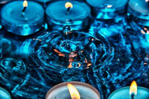 Fire and Water Drop 02 HDR by Creative--Dragon