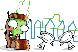 GIR is the Bacon Man by Union-of-Darkness