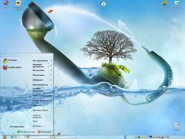 "theme water ""beta"" for XP by tochpcru"