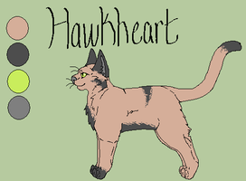 Hawkheart Ref. by Ink--Chan