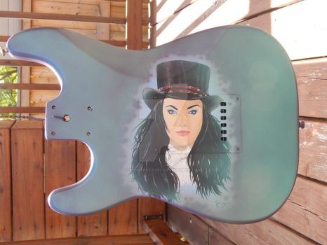 Zatanna Guitar by RichardZajac
