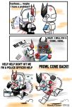 Prowl is in trouble by BloodyChaser