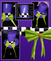 Duct Tape Top Hat: Alice In Wonderland Inspired by ay4u