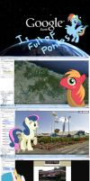 Google Earth is full of ponies by DarkBrony181