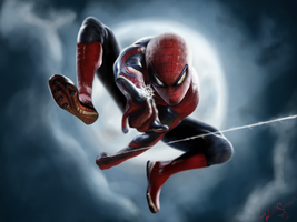 Spider-Man by grandsyeuxbleu