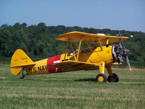 Navy Stearman by zammariangod