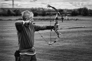 Compound Bow by Elroymedia