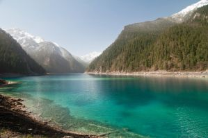 jiuzhaigou, china by aloxey