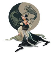 Yin and Yang by Catwagons