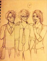 The Marauders by SilvianArt