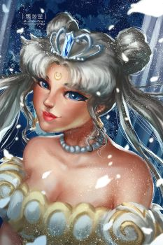 Neo Queen Serenity by MistiousStar