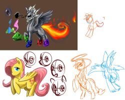SacBrony how to draw panel sketches by slifertheskydragon