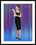 Audrey Hepburn by sanchezdesigns