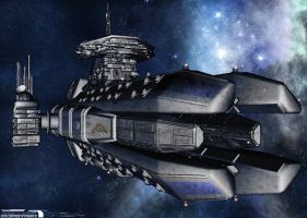 Ion Frigate Collaboration by r0x0rtenshi