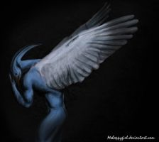 Blue Bird Man by Mshappygirl