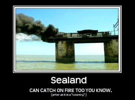 sealand on fire by soulreaperpower
