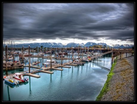 Piers of Homer by CashMcL