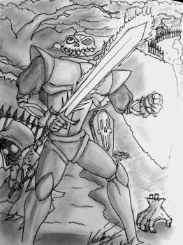 MediEvil Artwork (Original Drawing) by VicSidenko