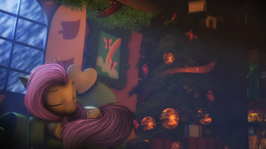 Christmas night by FlutterDaz