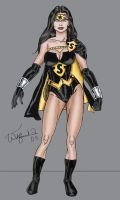 Superwoman redesign by Walfiend2