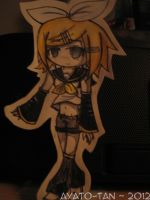 Rin Kagamine paper child! :3 by Ayato-tan