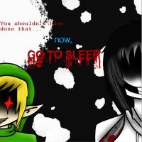 Jeff the Killer and BEN by Xx-MayhemOnMisery-xX