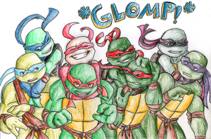 All Together Now :glomp: by R2ninjaturtle