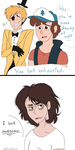 You look exhausted. by Desteny-Love